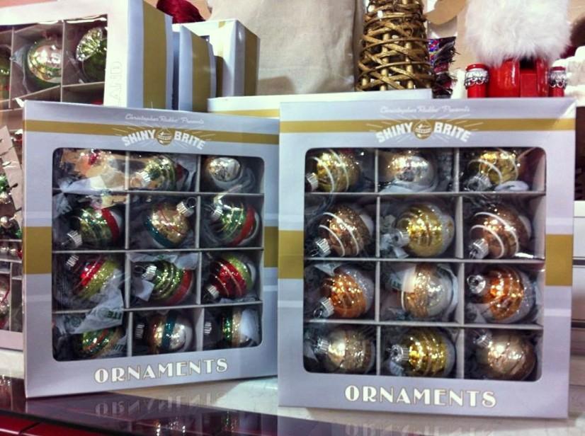 Shiny Brite Christmas at HomeGoods