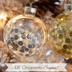 Diy Sequin Christmas Ornament fi