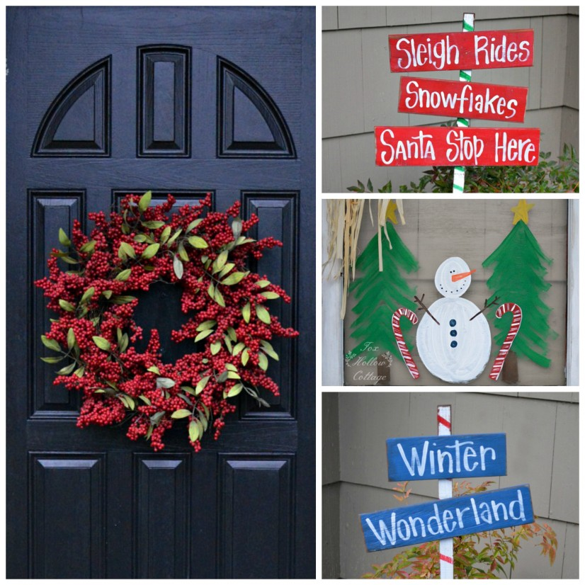 Fox Hollow Cottage Diy Christmas Front Porch