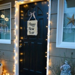 New Year's Eve Simple Porch Decor fi