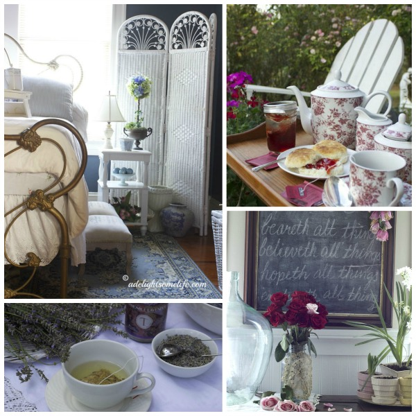 A Delightsome Life Shabby Cottage Style Living