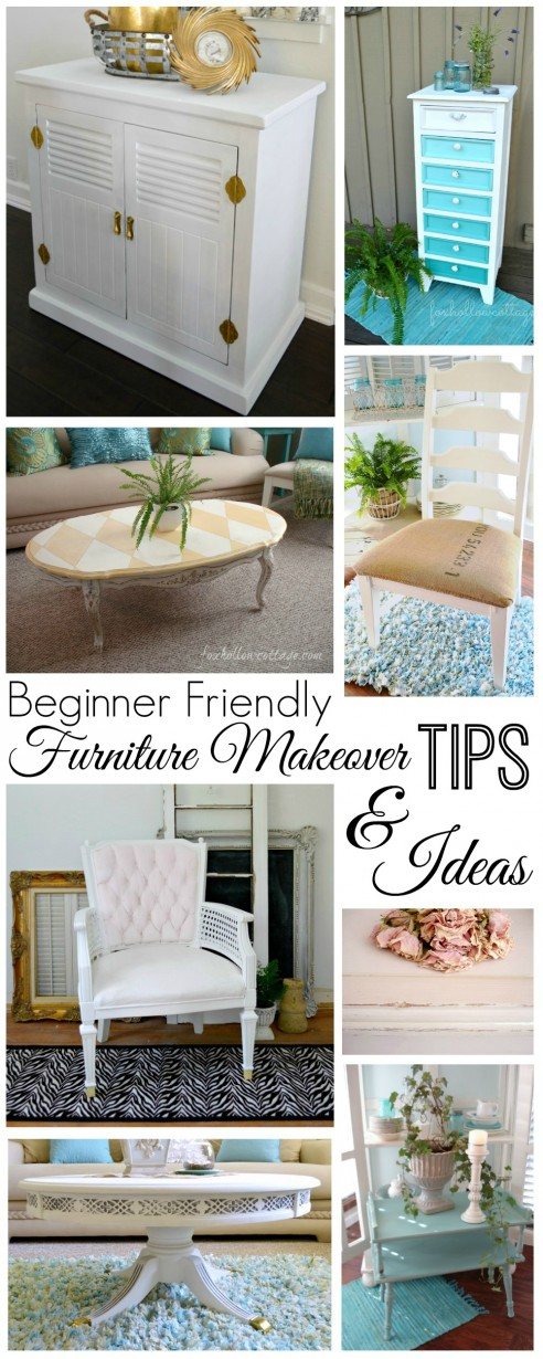 Diy painted furniture makeover ideas www.foxhollowcottage.com