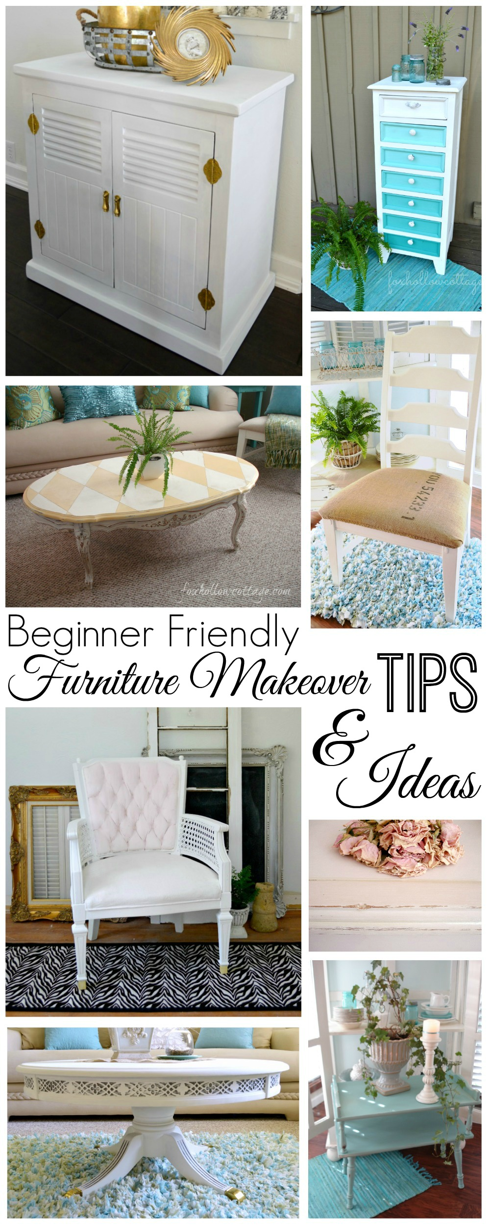 DIY Painted Furniture Makeover Ideas