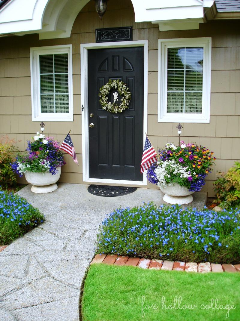 Fox Hollow Cottage - Front Entry Exterior - Circa 1920 Cottage Bungalow