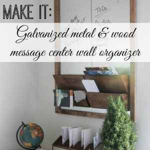 diy office wall organizer message center tutorial fox