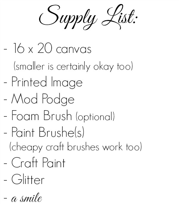 Glitter Diy Bird Art Supply List foxhollowcottage