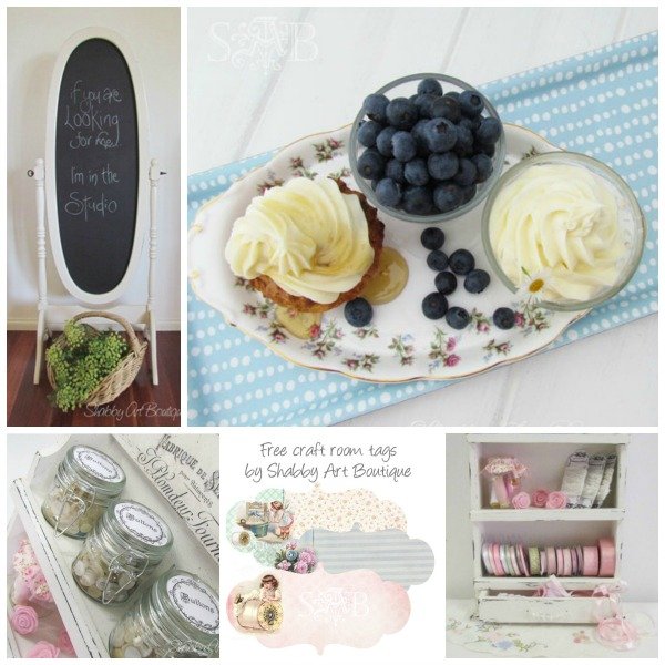 Shabby Art Boutique Diy Home and Recipes
