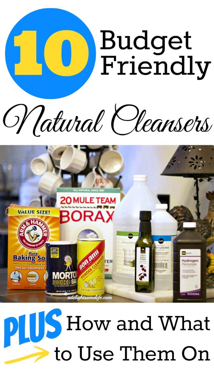 Diy Natural Cleaners: budget friendly cleaning tips and cleanser recipes