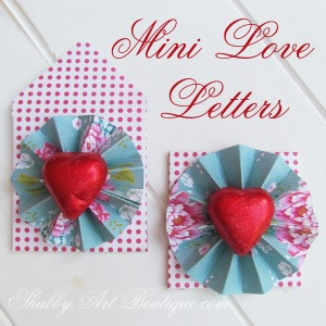 mini love letter valentines day diy craft