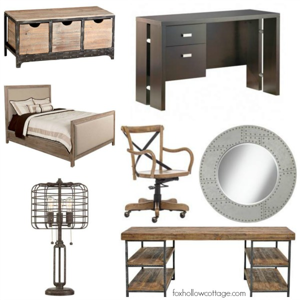 Industrial Rustic Bedroom Decorating Ideas