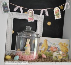 Easter Vingette - Fox Hollow Cottage in Spring