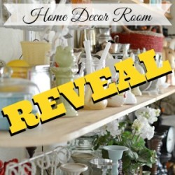 Home Decor Storage Room REVEAL