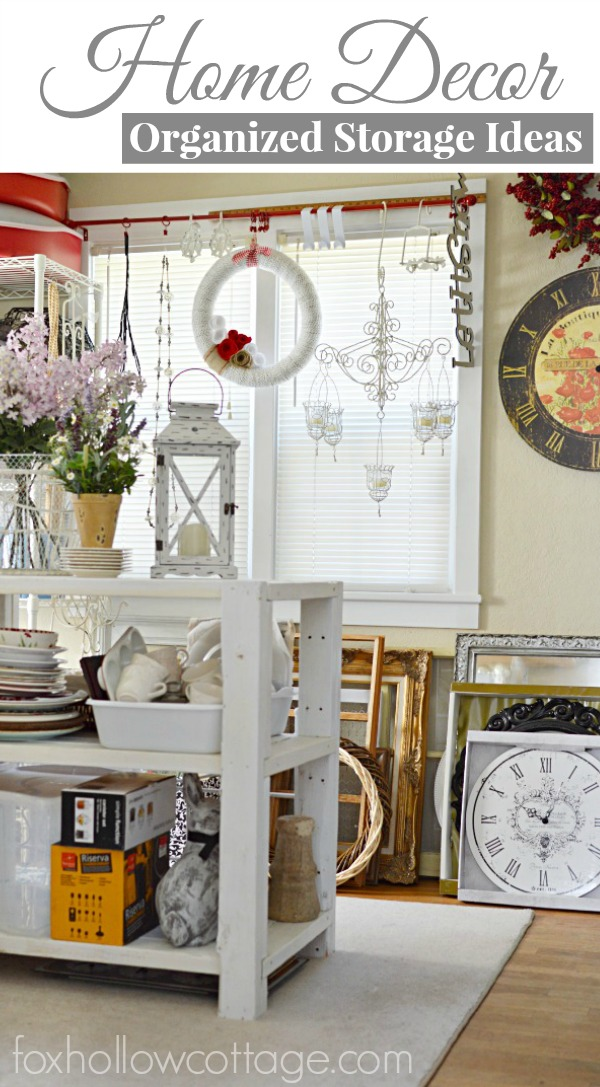 Organized Home Decor Decoration Storage Ideas and Solutions foxhollowcottage