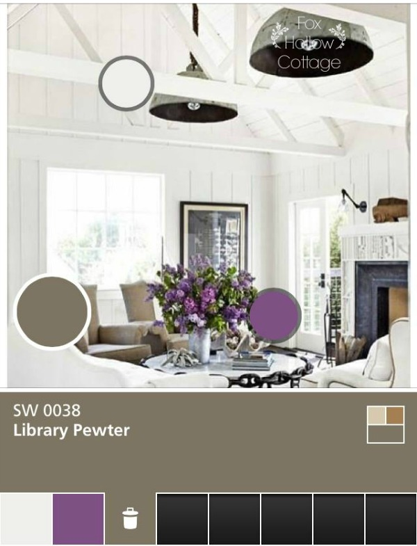 Sherwin Williams ColorSnap Color Selection Tool - foxhollowcottage