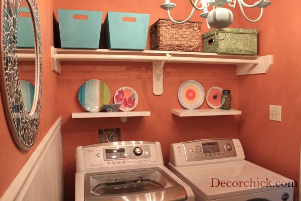 Decorchick @decorchick Laundry Room Makeover