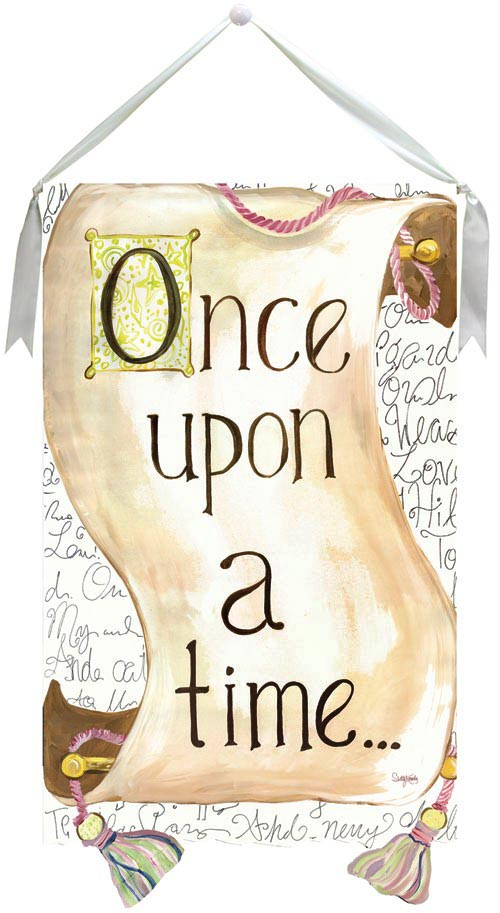 once upon a time graphic scroll