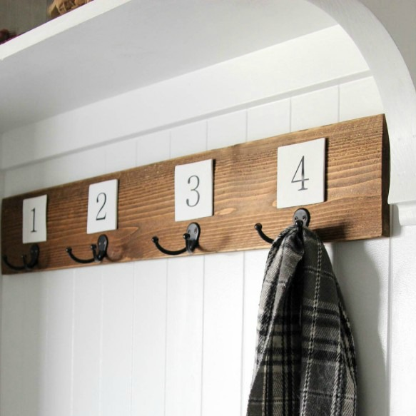 Farmhouse Fresh Diy Make A Fence Picket Coat Rack Fox Hollow Cottage Best Picket Fence Coat Rack
