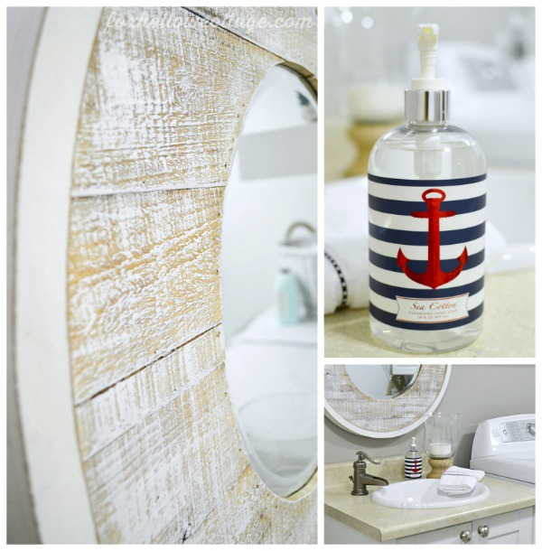 Nautical Coastal Beach Style Home Decorating Ideas #SWRenew #ad