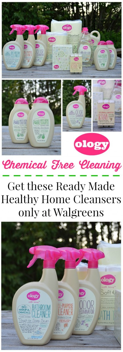 OLOGY Ready-Made Healthy Home Cleansers only at Walgreens