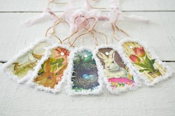 Spring Easter Bunny DIY Paper Banner Garland Craft