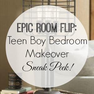 Teen Boy Bedroom Makever - Sneak Peek and Update 300