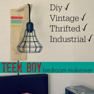 Teen Boy Bedroom Makeover - Part One