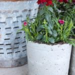 How To Make Concrete Flower Planter Pots