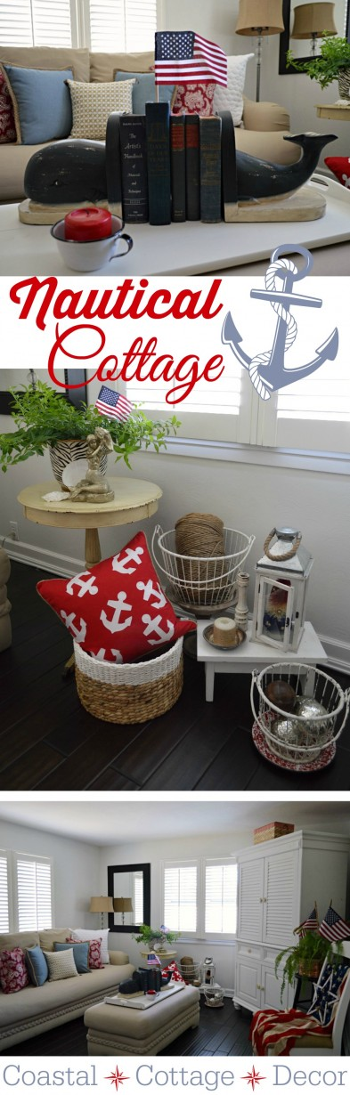 Coastal Cottage Summer Home - Nautical Decorating