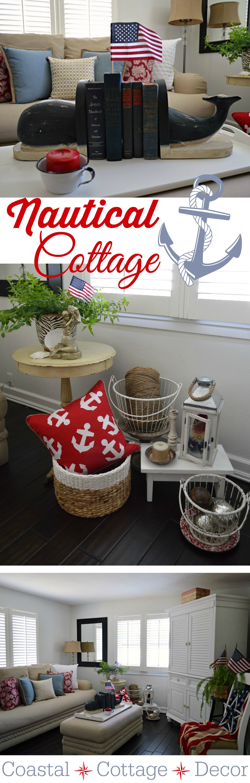 summer cottage nautical home decorating fox hollow cottage