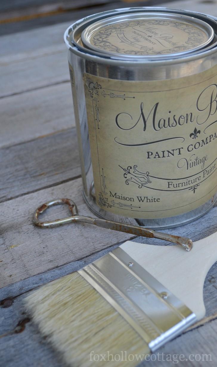 Maison Blanche Vintage Furniture Paint - Maison White