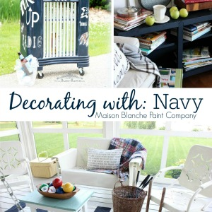 Decorating with NAVY - Maison Blanche Paint Company
