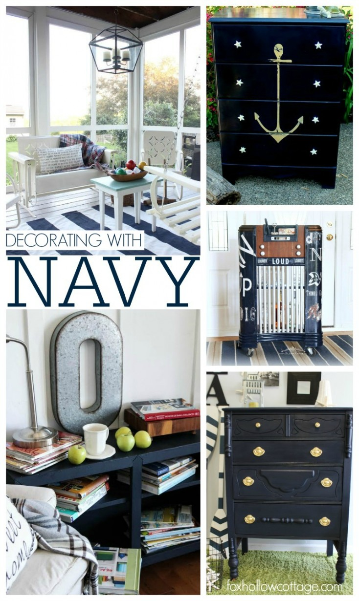 Decorating with Navy | Maison Blanche Paint Company