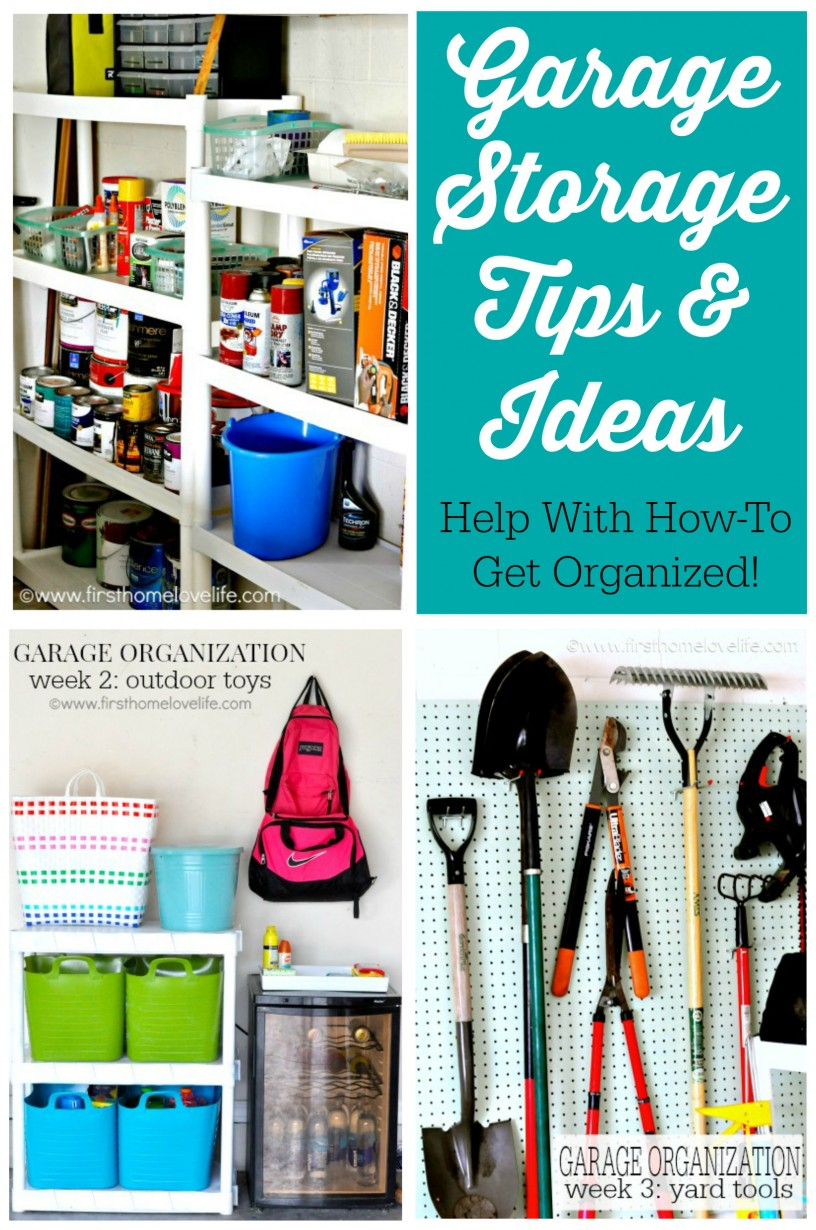 Garage Storage Tips and Ideas - How To Get Organized