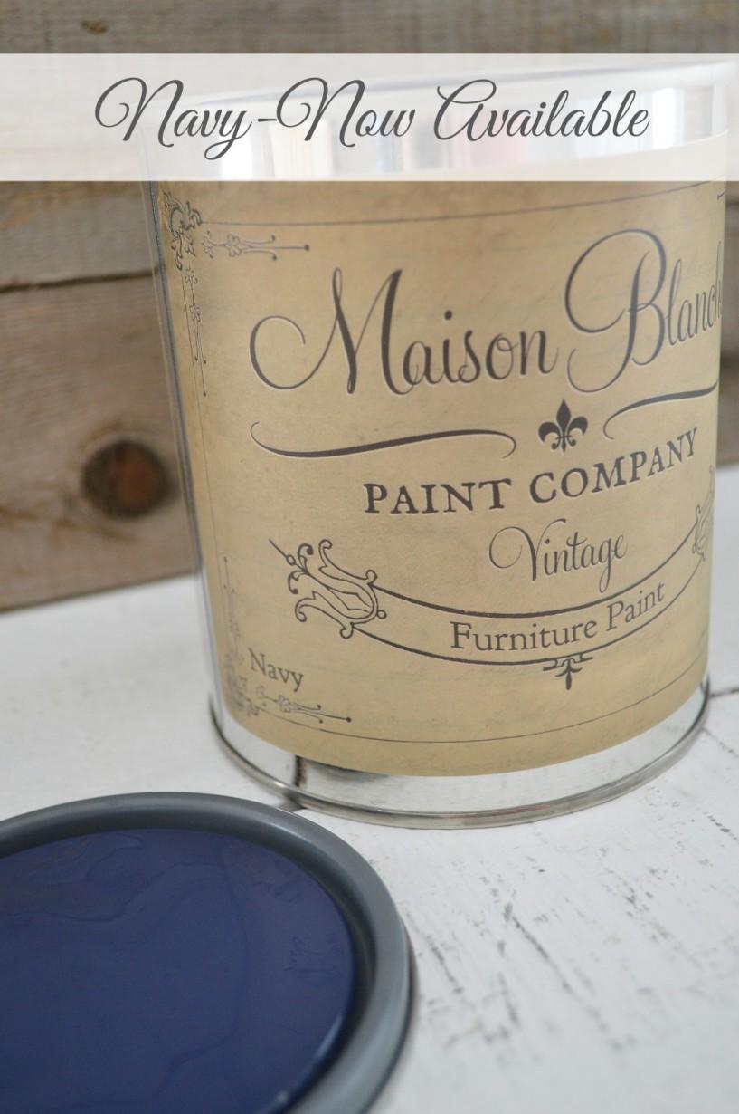Navy - Maison Blanche Vintage Furniture Paint