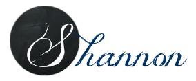 Shannon signature Navy 003366
