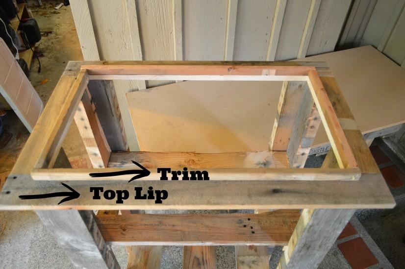 DIY Wood Deck Cooler #thehomedepot #3MPartner #ad