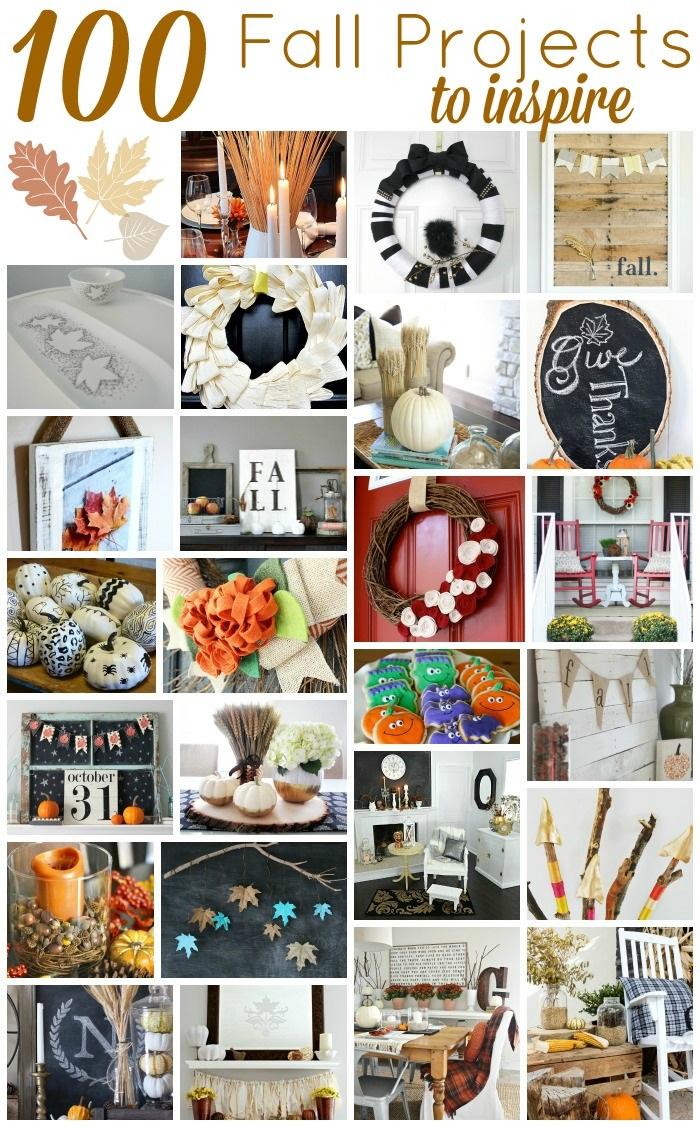 100 fall project ideas