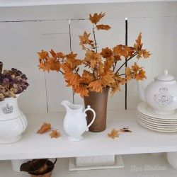 Autumn Decor - Fall Apothecary Cabinet foxhollowcottage