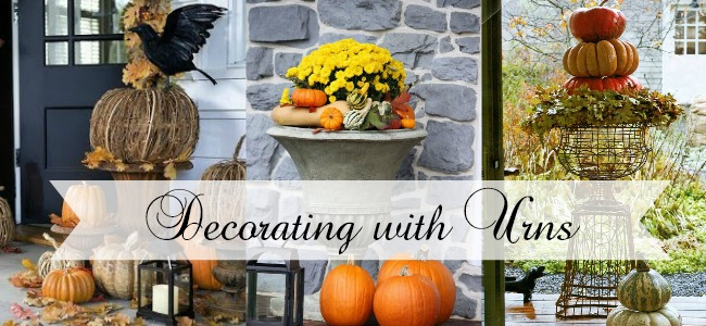 Deocrating with Urns Fall Edition