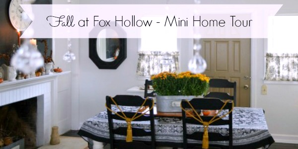 Fall Home Tour Slider