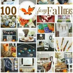 Fall and Autumn Decor Decorating - 100 Ideas - foxhollowcottage 300brn