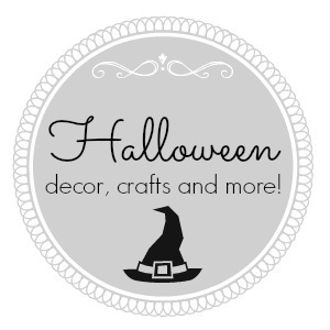 Halloween Decor Crafts and More - foxhollowcottage.com
