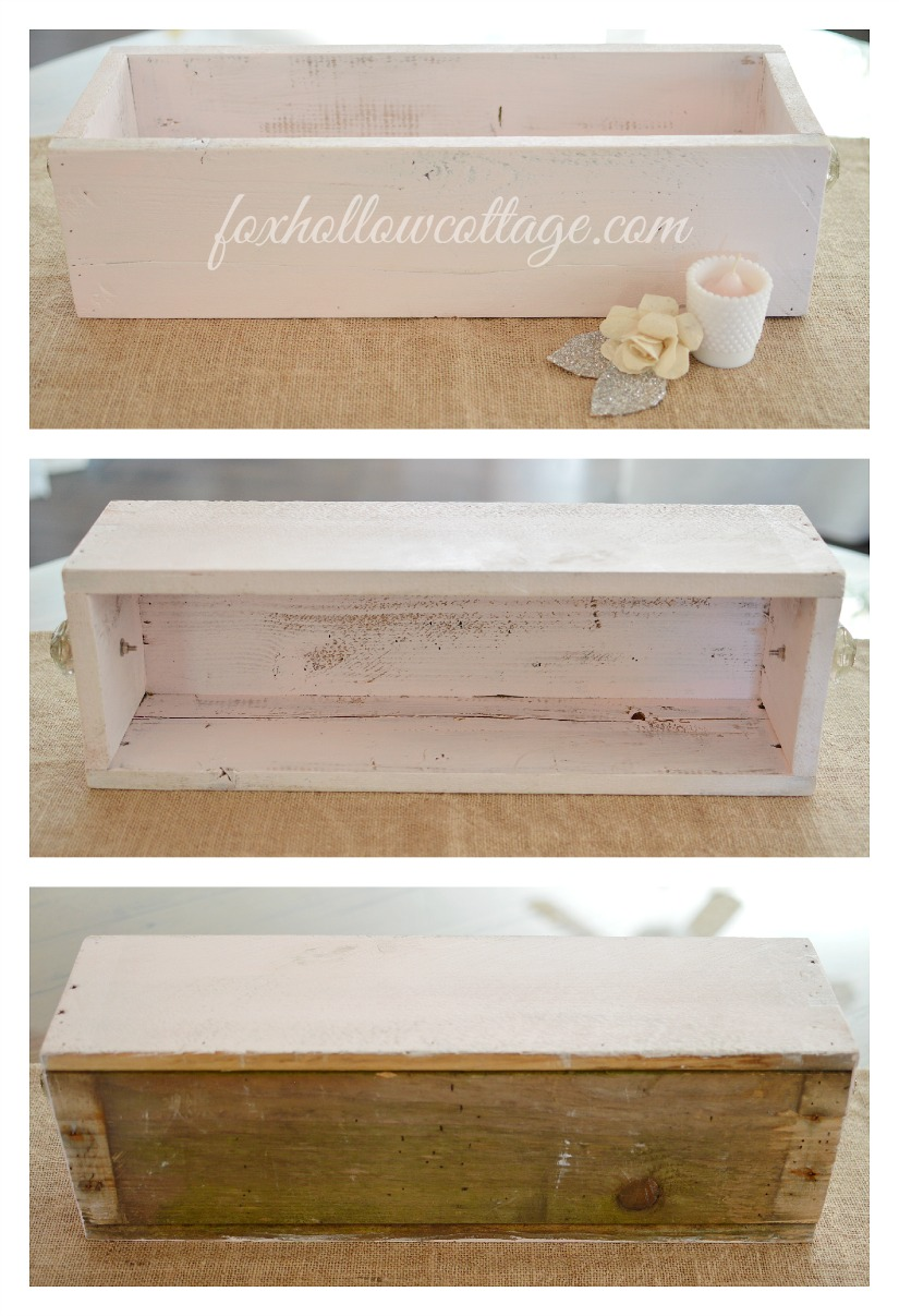 How To Make A Wood Trough Box