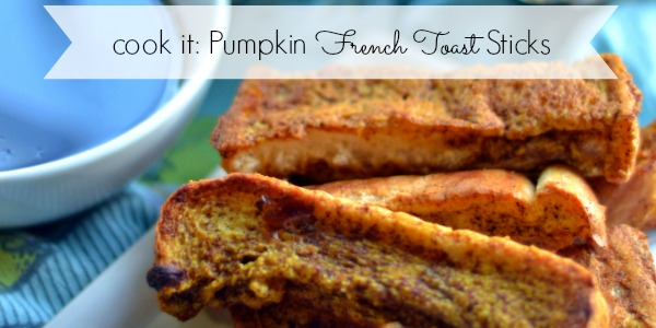 Pumpkin French Toast Stick Recipe