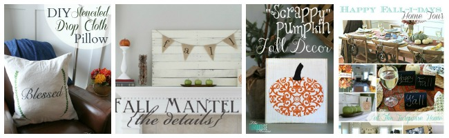 The Turquoise Home Fall Projects