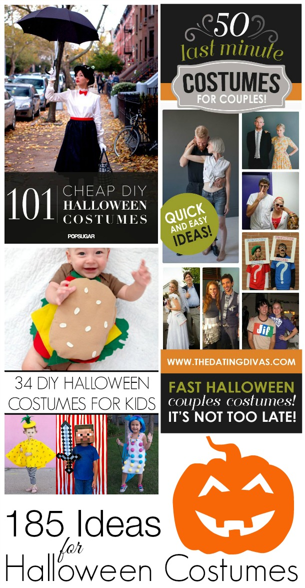 185 Ideas For Halloween Costumes