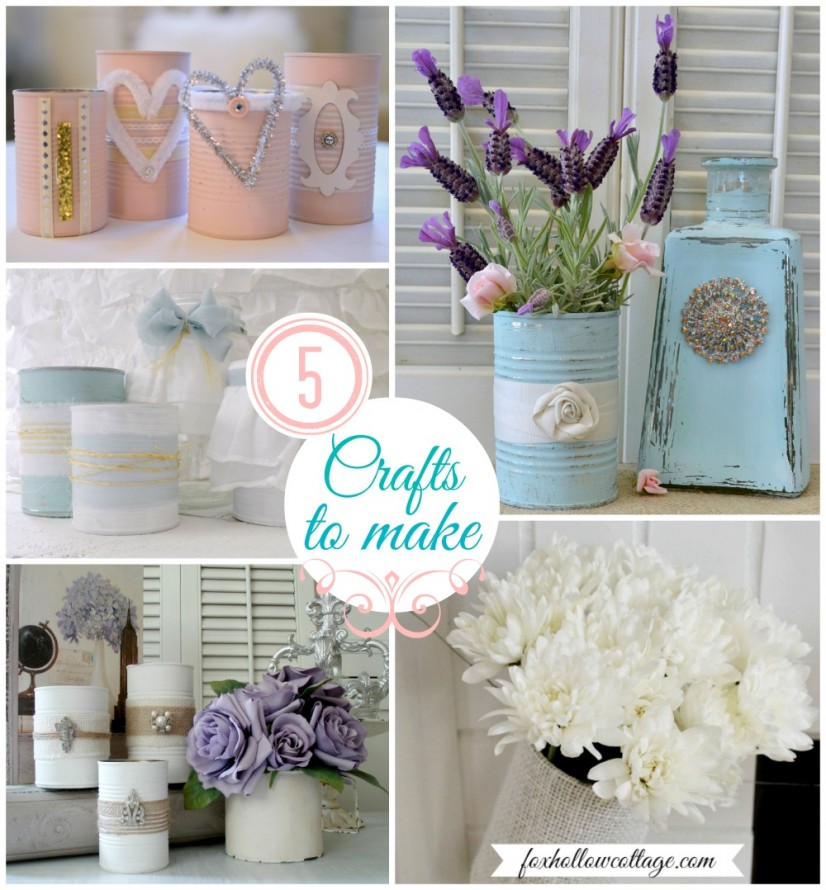 Tin Can Craft and Home Decor Ideas