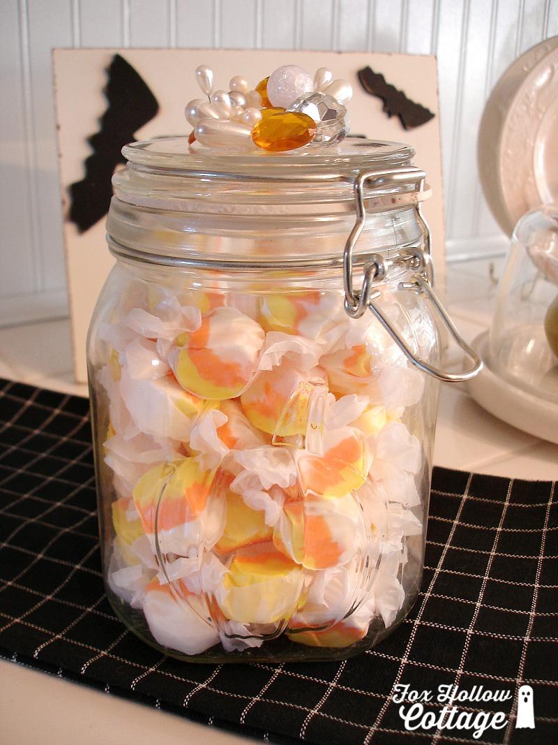 Halloween Candy Mason Jar Craft Gift