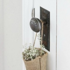 How to Install a Vintage Door Knob On A New Door - - foxhollowcottage