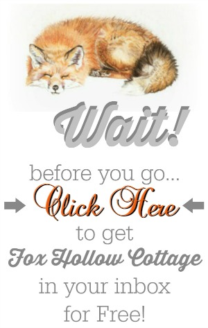 Subscribe to Fox Hollow Cottage blog